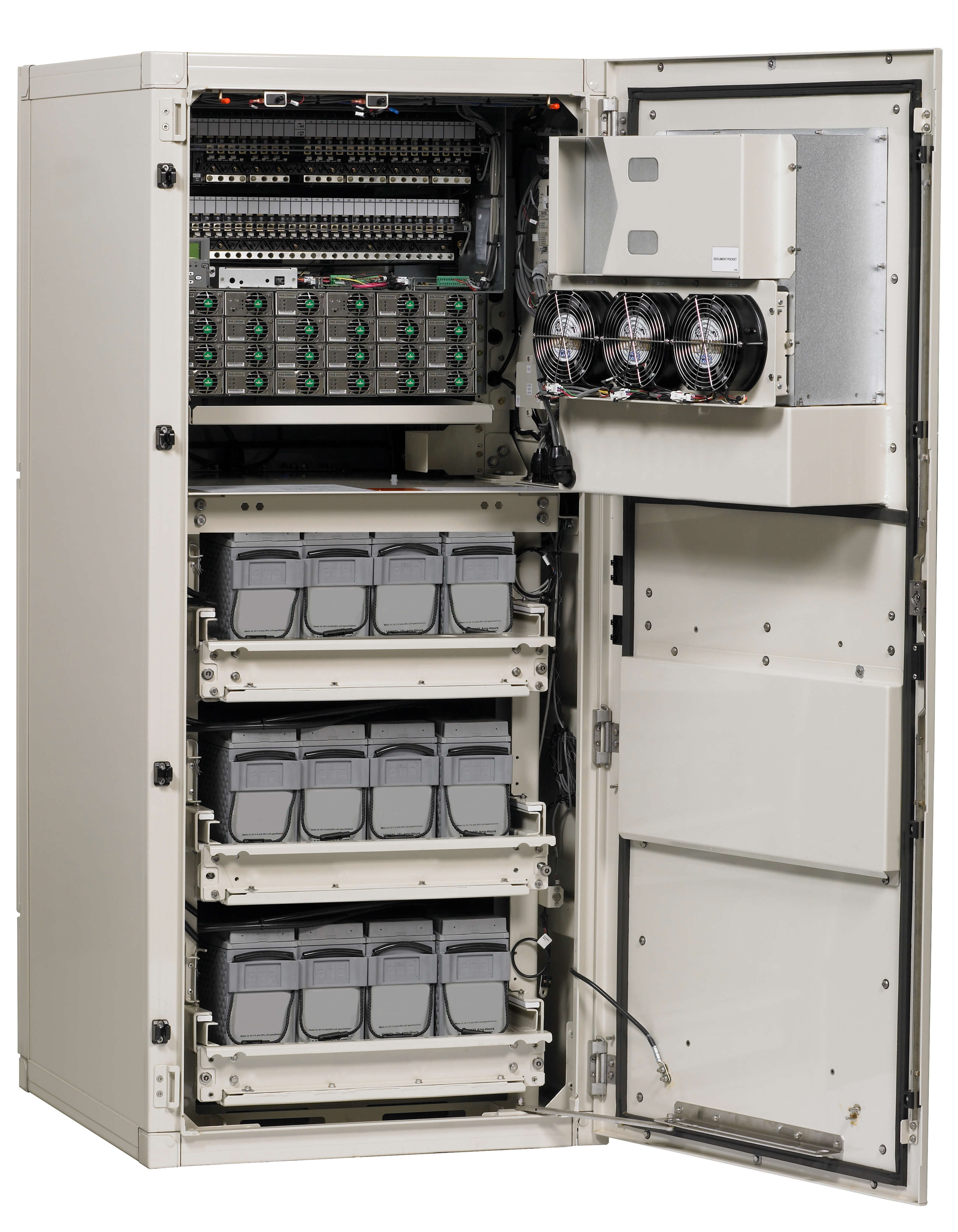 Joe Powell and Associates Vertiv XTE 601P, 72″ Enclosure